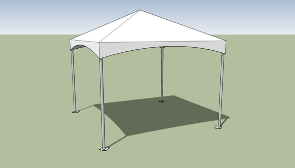 Ohenry 10' x 10' Premium Frame Tent Tension top and frame