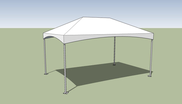 10x15 Premium Frame Tent Tension top and frame