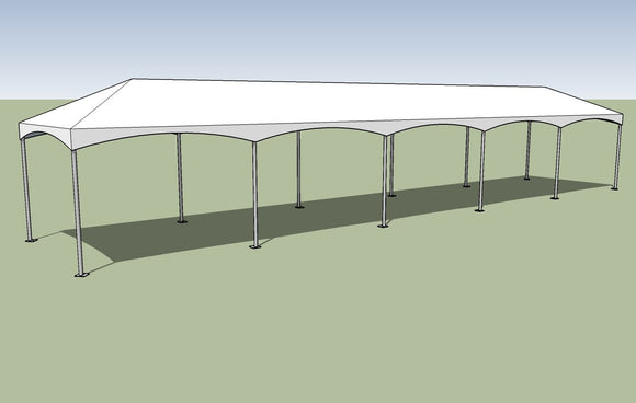 10x50 Premium Frame Tent Tension top and frame