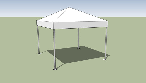 Ohenry 10' x 10' Frame tent top and frame