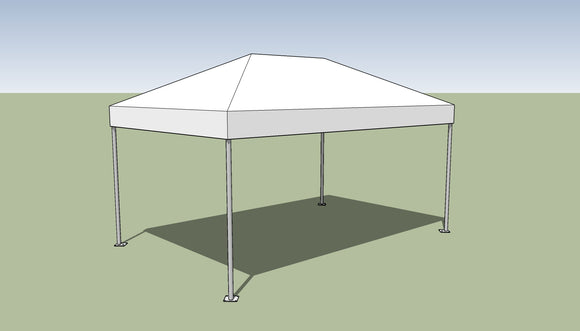 Ohenry 10' x15' frame tent