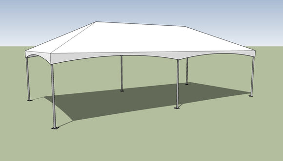 15x30 Premium Frame Tent Tension top and frame