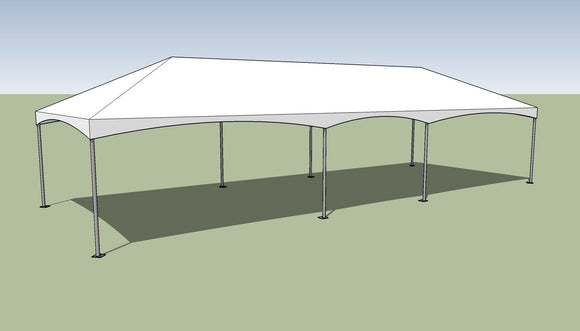 15x40 Premium Frame Tent Tension top and frame