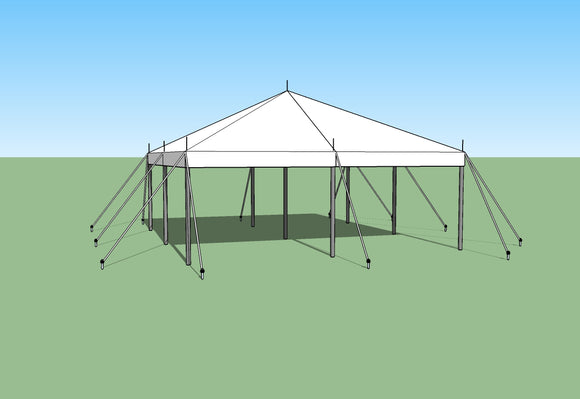 buy 20x20 pole tent by Ohenry