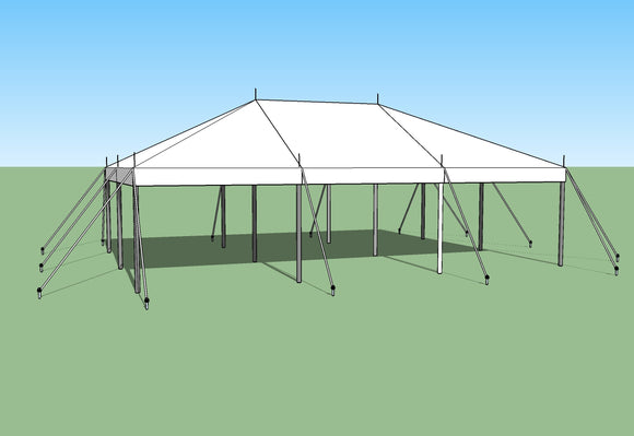 buy 20x30 pole tent by Ohenry