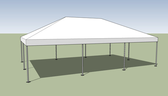 Ohenry 20' x 30' Frame tent top and frame