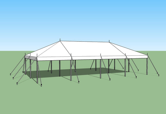 buy 20x40 Pole Tent by Ohenry Tents