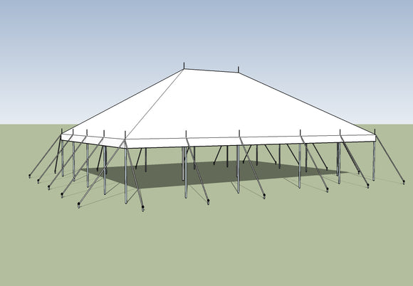 buy ohenry 30x40 Pole Tent