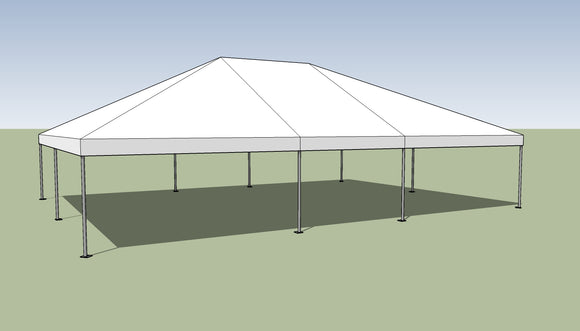 Ohenry 30' x 40' Frame tent top and frame
