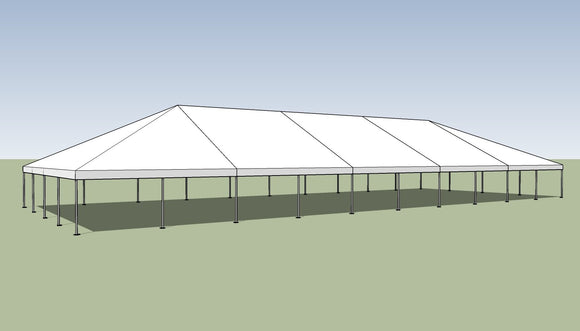 Ohenry 40' x 100' Frame tent top and frame