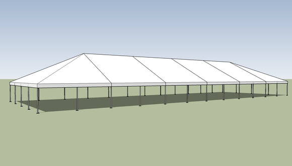 Ohenry 40' x 120' Frame tent top and frame