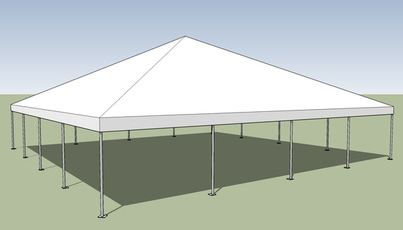 Ohenry 40' x 40' Frame tent top and frame