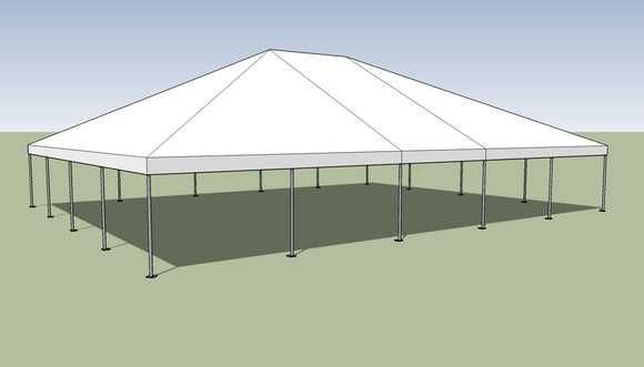 Ohenry 40' x 50' Frame tent top and frame