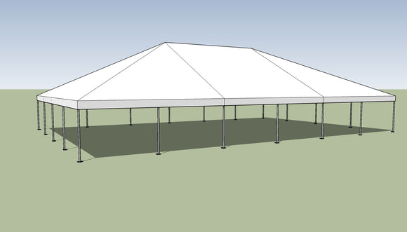 Ohenry 40' x 60' Frame tent top and frame