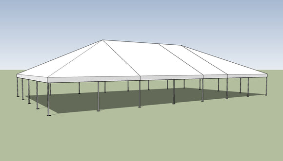 Ohenry 40' x 70' Frame tent top and frame