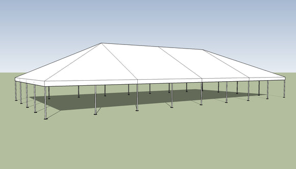 Ohenry 40' x 80' Frame tent top and frame