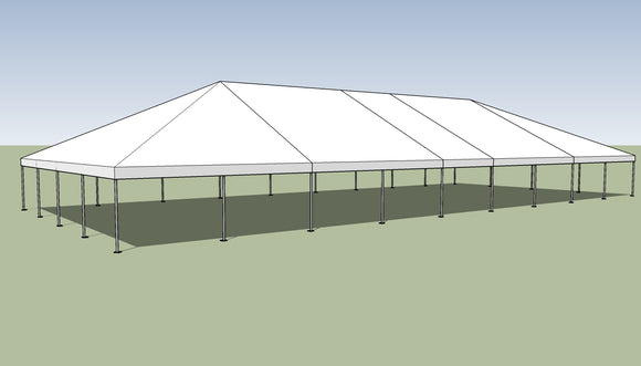 Ohenry 40' x 90' Frame tent top and frame