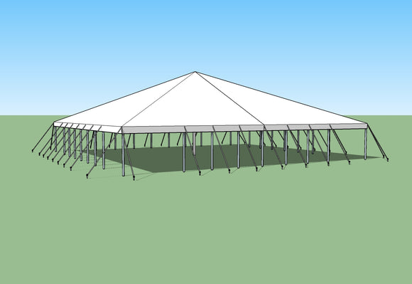Ohenry Traditional Pole Tent 50' x 80' party tent