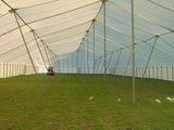 Ohenry Traditional Pole Tent 80' x 220' party tent inside