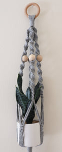 GREY STEVIE PLANT HANGER