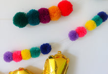 Load image into Gallery viewer, BUILD YOUR OWN POM POM GARLAND- LARGE POMS