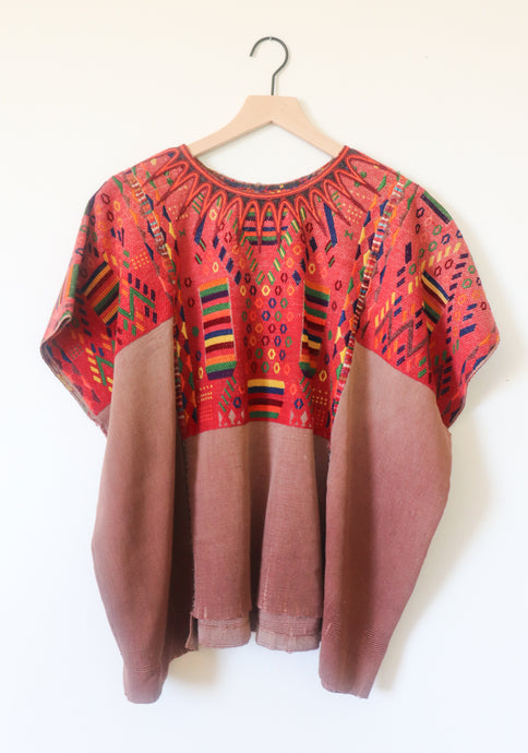 VINTAGE GUATAMALAN EMBROIDERED TOP