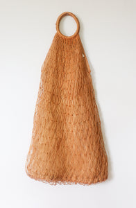 VINTAGE SUPERLONG MACRAME BAG