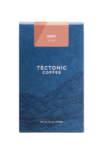Tectonic Coffee Coffee Drift Blend 12oz
