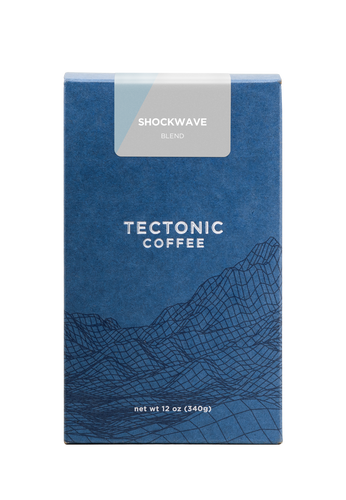 Tectonic Coffee Shockwave Blend 12oz