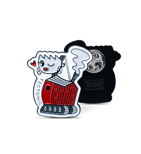 Big Betty the Steamshovel Enamel Pin