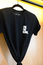 For The Climb Hilltop Black Tee - Front