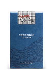 Tectonic Blend with Plaid Label