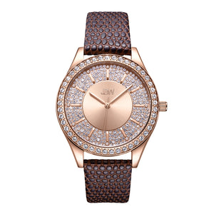 JBW Women's Mondrian Diamond & Crystal Watch