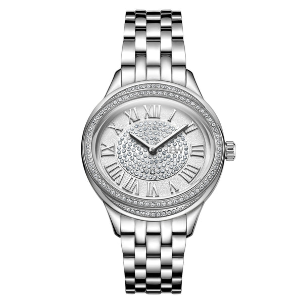 JBW Women's 10-Year Anniversary Plaza Diamond Wrist Watch with Two Interchangeable Bracelets - boutq.com