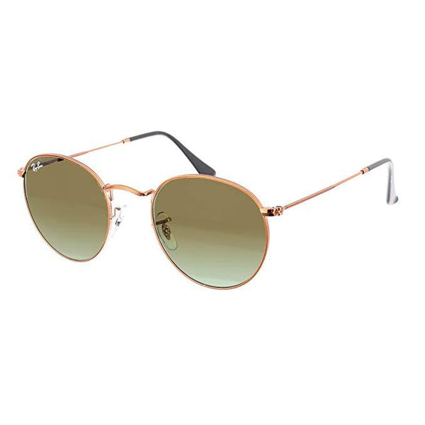 RAY-BAN METAL ROUND SUNGLASSES - boutq.com
