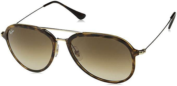 RAY-BAN WOMEN'S RB4298 AVIATOR GRADIENT SUNGLASSES