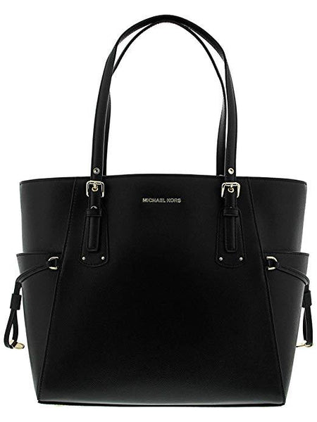 MICHAEL KORS VOYAGER CROSSGRAIN LEATHER TOTECER LEATHER CROSSBODY - boutq.com