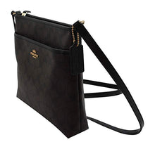 Load image into Gallery viewer, COACH SIGNATURE ZIP FILE CROSSBODY BAG