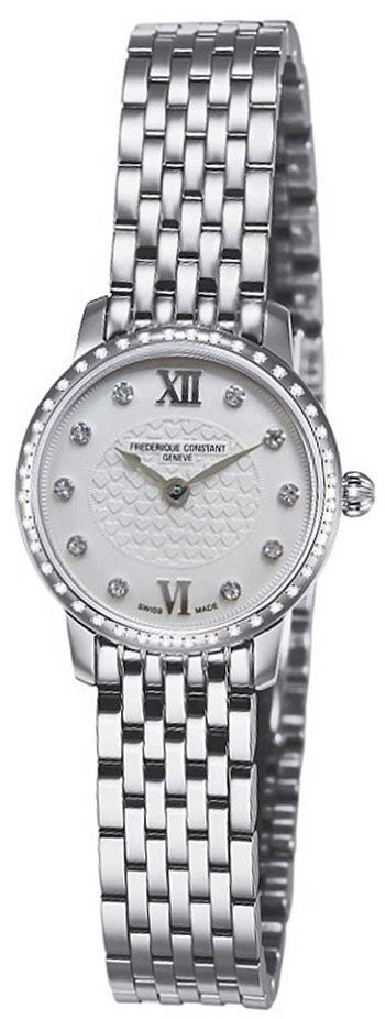 Frederique Constant  Slimline Mini Ladies Watch  Model FC-200WHDSD6B - boutq.com
