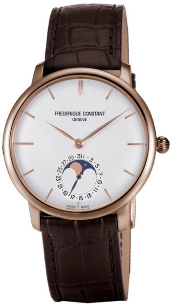 Frederique Constant  Slimline Moonphase Men's Watch  Model FC-705V4S9 - boutq.com