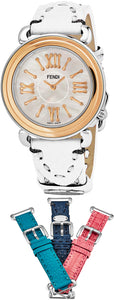 Fendi Selleria 3 Additional Straps Set With Ladies Watch Model F8012345H0-SET1