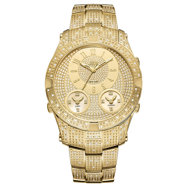 JBW Men's Jet Setter Iii Diamond Watch