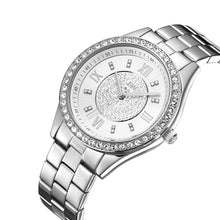 Load image into Gallery viewer, JBW Women's J6303-Set Mondrian Luxury Jewelry Stainless Steel Gold Rose Gold Diamond Watch Bracelet Sets - boutq.com