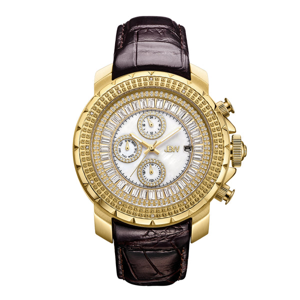 JBW Men's Titus Diamond & Crystal Watch
