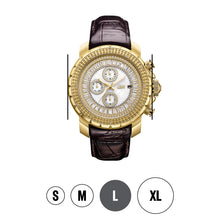 Load image into Gallery viewer, JBW Men's Titus Diamond & Crystal Watch
