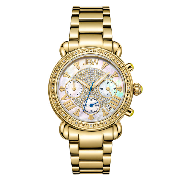 JBW Women's Victory Diamond & Crystal Watch