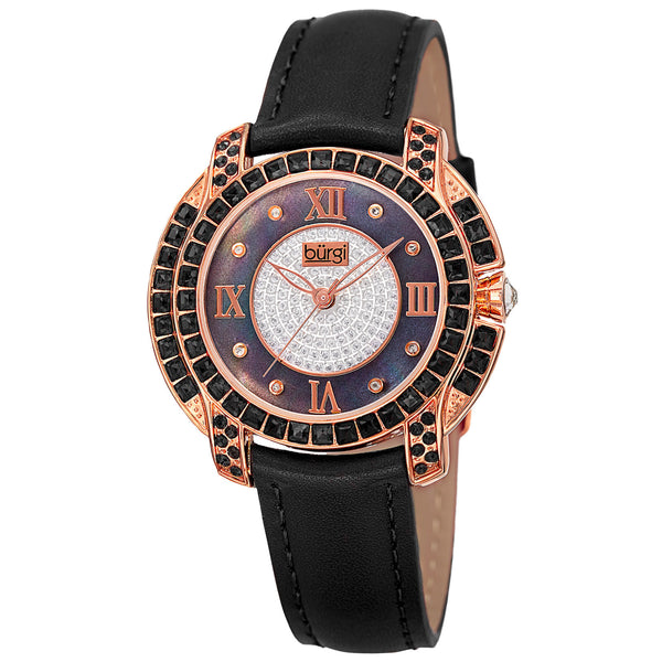 Burgi Swarovski Crystal Women's Watch - BUR156 - boutq.com