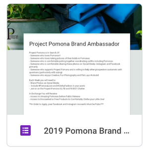 June 2019 New Ambassador Search + Giveaway
