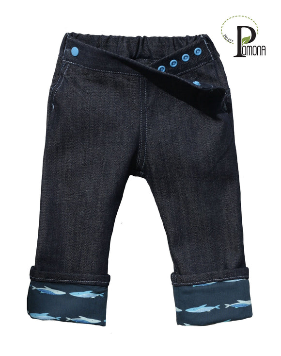 Deep Water Cuffed Jeans (ECO/TRAD)