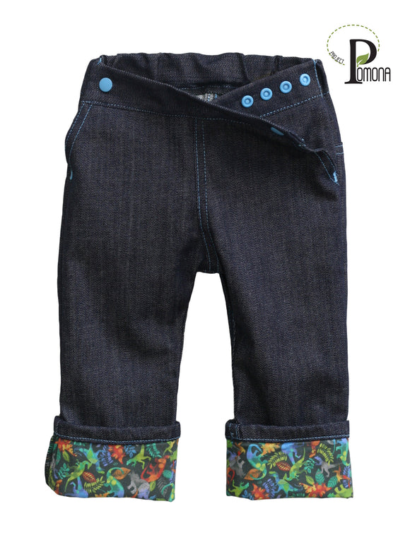 DINO Mini Stretch Indigo Jeans (ECO/TRAD)